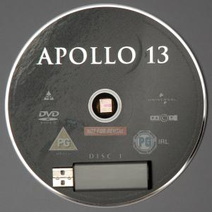 DVD + USB + chip