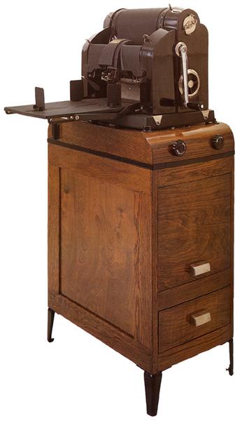 Un\'antica macchina da ciclostile