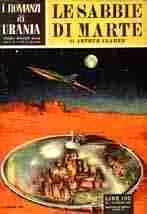 copertina di Le sabbie di Marte
