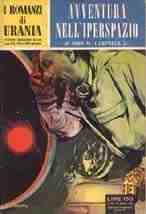 copertina di Avventura nell'iperspazio