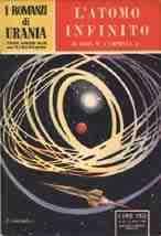 copertina di L'atomo infinito