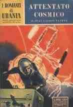 copertina di Attentato cosmico