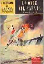 copertina di Le onde del Sahara