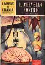 copertina di Il cervello mostro
