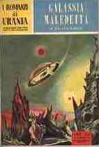 copertina di Galassia maledetta