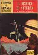copertina di Il mistero di Saturno
