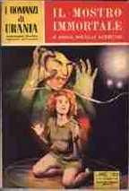 copertina di Il mostro immortale