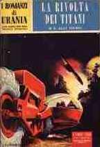 copertina di La rivolta dei Titani