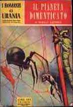 copertina di Il pianeta dimenticato