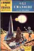 copertina di Gli umanoidi