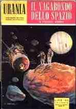 copertina di Il vagabondo dello spazio