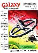 copertina di Galaxy Anno IV-N. 9