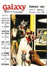 copertina di Galaxy Anno V-N. 1