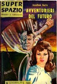 copertina di Avventurieri del futuro