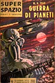 copertina di Guerra di pianeti