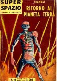 copertina di Ritorno al pianeta Terra