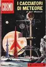 copertina di I cacciatori di meteore