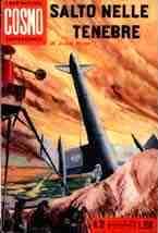copertina di Salto nelle tenebre