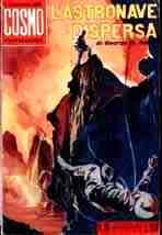 copertina di L'astronave dispersa