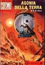 copertina di Agonia della Terra