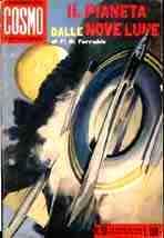 copertina di Il pianeta delle nove lune