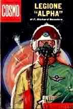 copertina di Legione `Alpha`