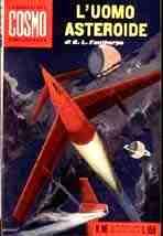 copertina di L'uomo asteroide
