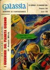 copertina di I guerrieri del pianeta Giorno