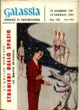 copertina di Stranieri dallo spazio