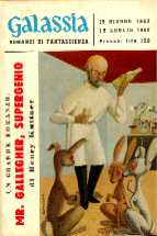 copertina di Mr. Gallegher, Supergenio