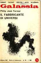 copertina di Il fabbricante di universi