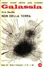 copertina di Non della Terra