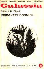 copertina di Ingegneri cosmici