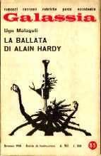 copertina di La ballata di Alain Hardy