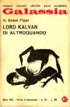 copertina di Lord Kalvan di Altroquando