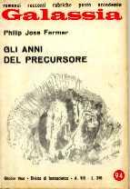 copertina di Gli anni del precursore