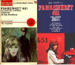 copertina di Fahrenheit 451 (Gli anni della Fenice)