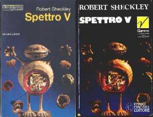 copertina di Spettro V[. AAA Asso Interplanetaria]