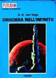 copertina di un volume della collana Futuro. Biblioteca di Fantascienza