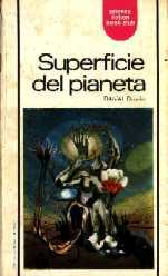 copertina di Superficie del pianeta