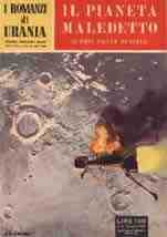 copertina di Il pianeta maledetto