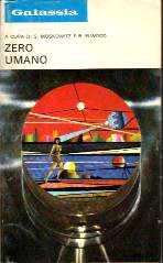 copertina di Zero umano
