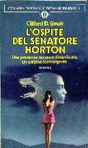 copertina di L'ospite del senatore Horton