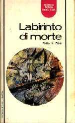 copertina di Labirinto di morte