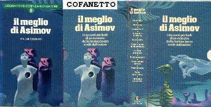 copertina di Il meglio di Asimov. Volume secondo