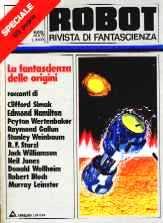 copertina di un volume della collana Robot Speciale