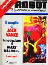copertina di Il meglio di Jack Vance