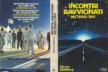 copertina di Incontri ravvicinati del terzo tipo