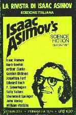 copertina di un volume della collana La Rivista di Isaac Asimov