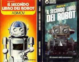 copertina di Il secondo libro dei robot